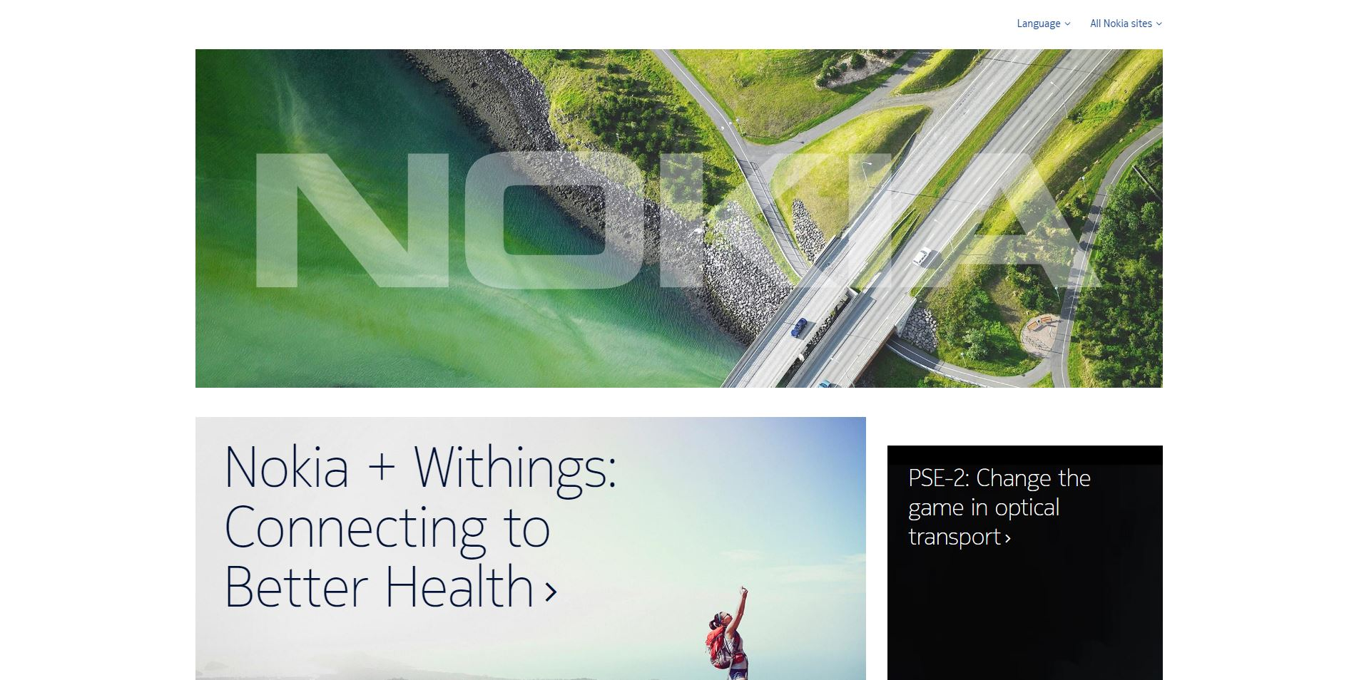 Nokia Home Page